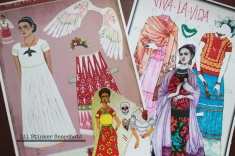 Various paper dolls found for purchase on the internet