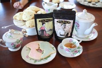 Yummy Jane Austen tea, loved the pear tea!